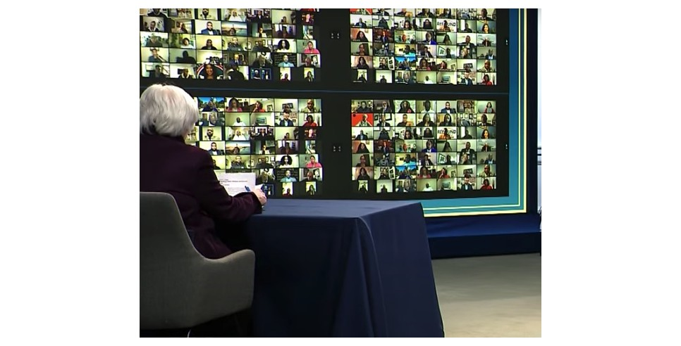 Janet Yellen meets with Black Chambers of Commerce