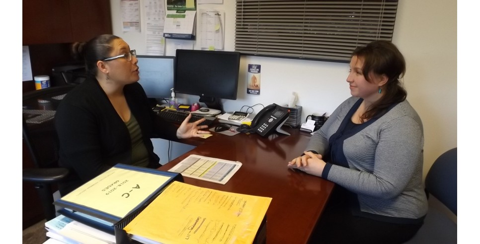 –  RTC Financial Aid Director Celva Boon and accounting student Aurelia Turcan – both came from families where higher education hadn't seemed to be in the cards.