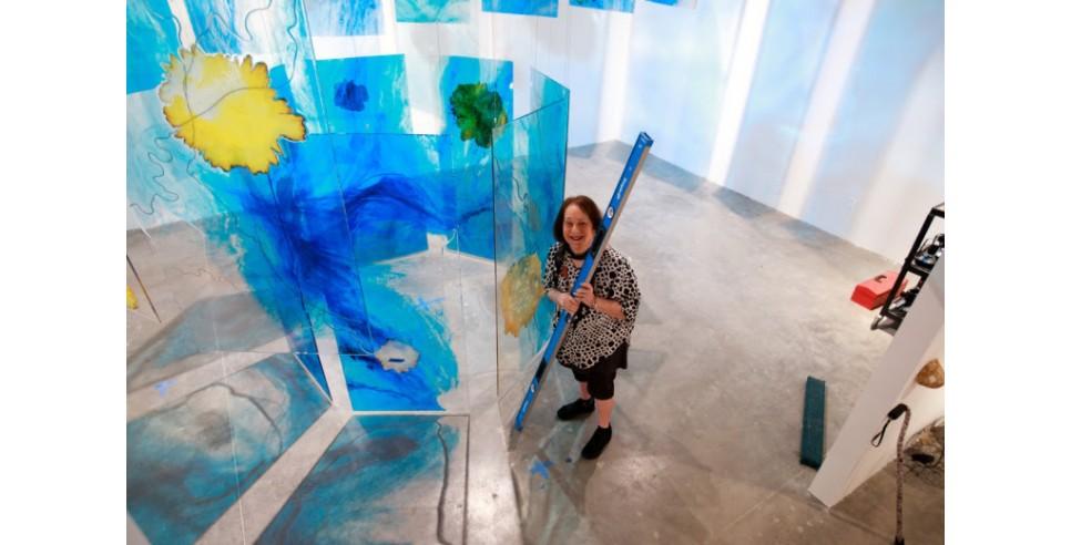 Artist Mira Lehr