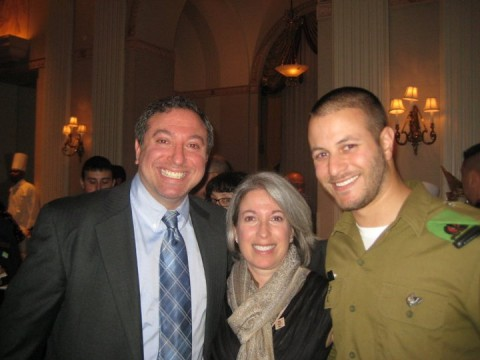 March 22nd in NYC at the Waldrof Astoria. Ellen Silverstein and her son Gidon Silverstein