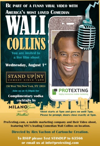 StandupNY invitation August 1