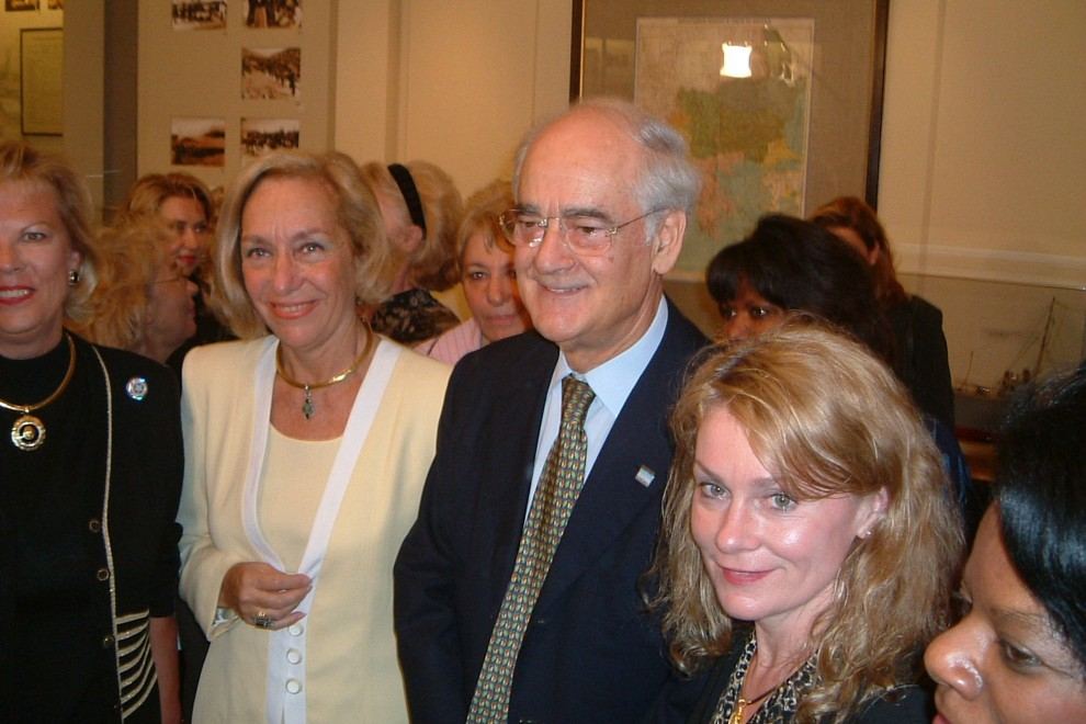 Patricia Vaccarino with EAWC and President of Greece