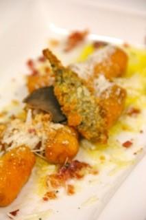 Sage, Pancetta, Hand Made Sweet Potato Gnocchi